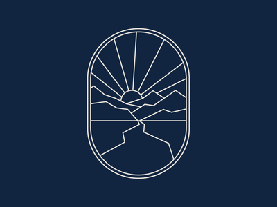 therapy/counseling brand peter voth seal logo academic church design branding illustration