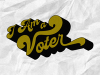 I Am a Voter for Urban Outfitters