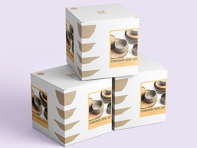 UO Home Packaging retail home label sticker box dieline packaging design kraft packaging