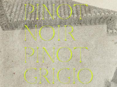 Pinot Typeface