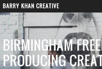 Barry Khan Creative - Redesign