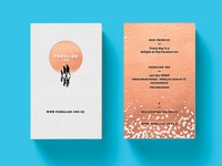 Paralian Inn Business Cards