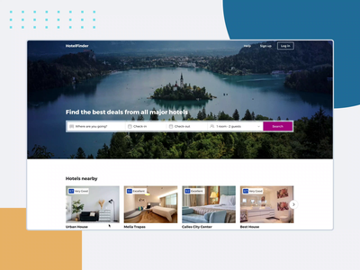Home Page Booking Form Prototype booking aftereffects ux design interactiondesign booking form ux  ui figmadesign figma ffmpeg