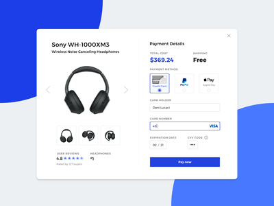 Daily UI #002 Check Out Form design userexperiance ux  ui creditcardcheckout checkout payment form checkout form dailyui invision studio dailyui 002