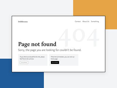 Daily UI #008 404 Page design challenge design ui dailyui daily ui 008