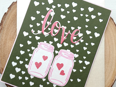 Valentines Card #1 love craft paper card handmade greeting valentines