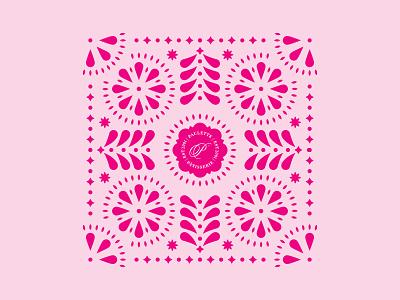Papel Picado branding mexico pattern papel picado