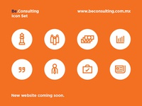 BeConsulting website icons