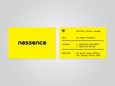 Nessence business cards