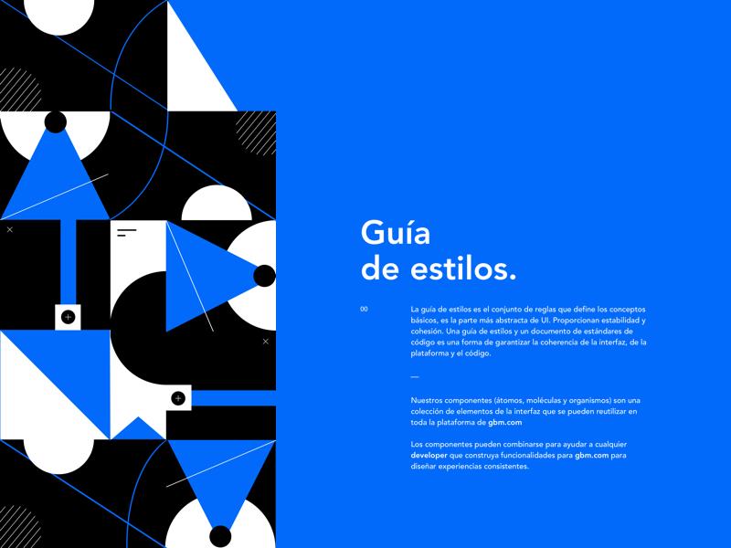 Book Design design book brand web white black dark blue guidelines