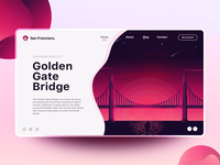 Golden Gate Bridge - Landing Page