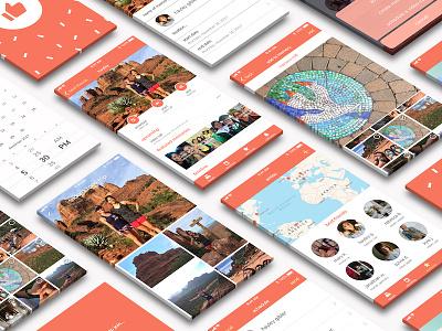 Amisu: An App for Long-Distance Friendships visual design user interface ui iphone social media app