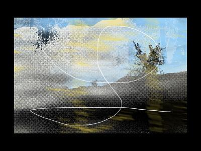 004 nature paint collage art collageart collage disconnection process illustration print graphic design design
