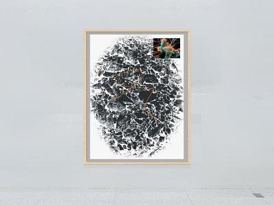 009 blackandwhite collage illustration print graphic design design