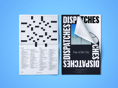 Dispatches Issue #2 process typography type print graphic design design