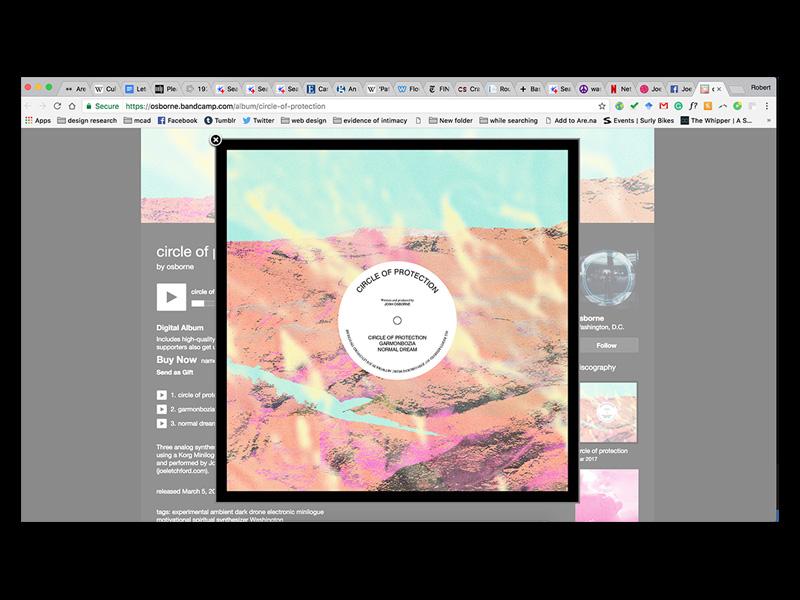 Circle of Protection  pattern design art record album