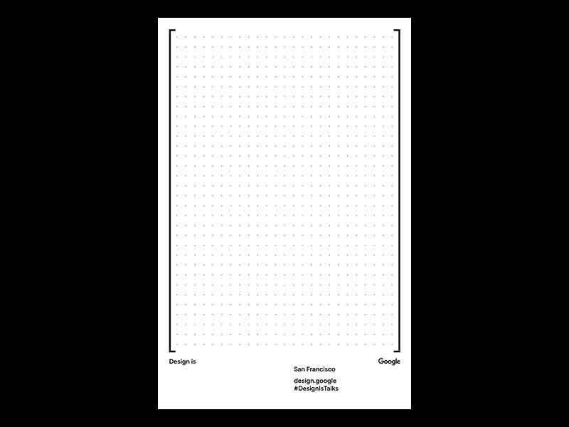 Design Is **Base Template** google print. riso template design