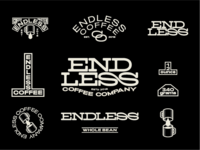 Endless Coffee co Identity