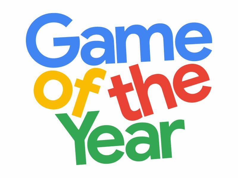 Game of the Year design logo branding design branding google