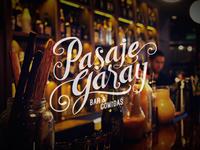"""""""Pasaje Garay"""" - Logo Design"""
