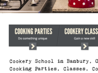 Cookery School Calls to action