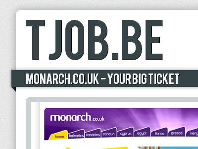 Tjob.be web website launch