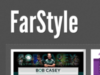 Portfolio concept - logo and introduction