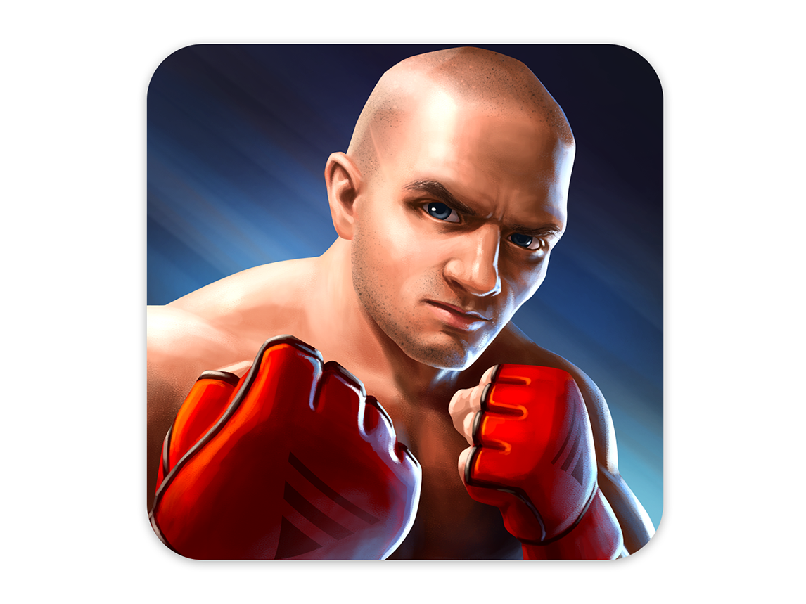 Fighter mma fighter graphic illustration character photoshop design