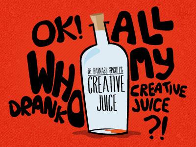 Creative Juice creative juice illustration inspiration block