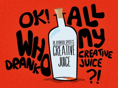 Creative Juice creative juice illustration inspiration block