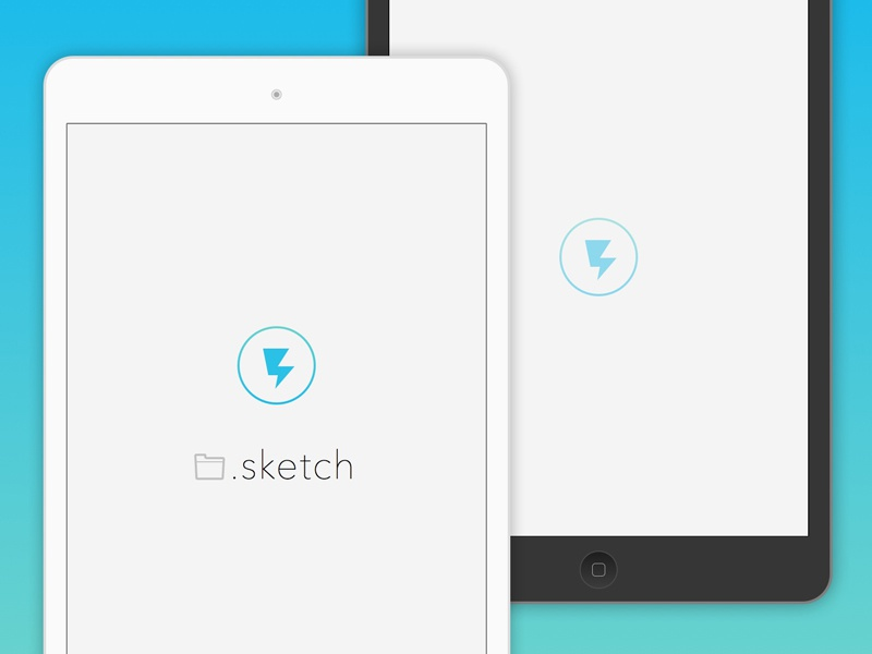 Apple macintosh ios iphone ipad sketch freebie download free.