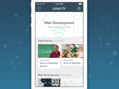 Udacity for iPhone iphone udacity education ed tech learning courses iphone app