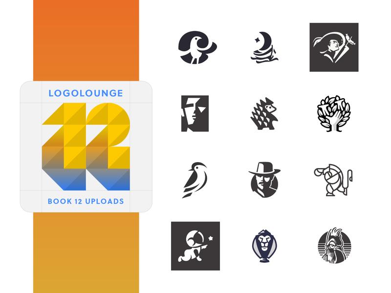 Logolounge Uploads logodesigners logoloungebook symbol mark negative space book logo identity brand logolounge logo design