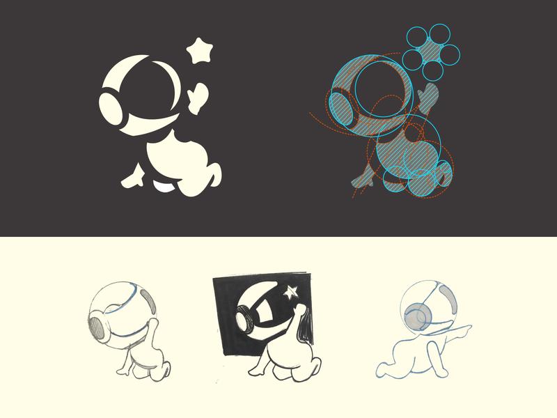 Little Explorer (second concept) branding logo mark negative space identity brand symbol logo design apparel kids clothing baby clothes