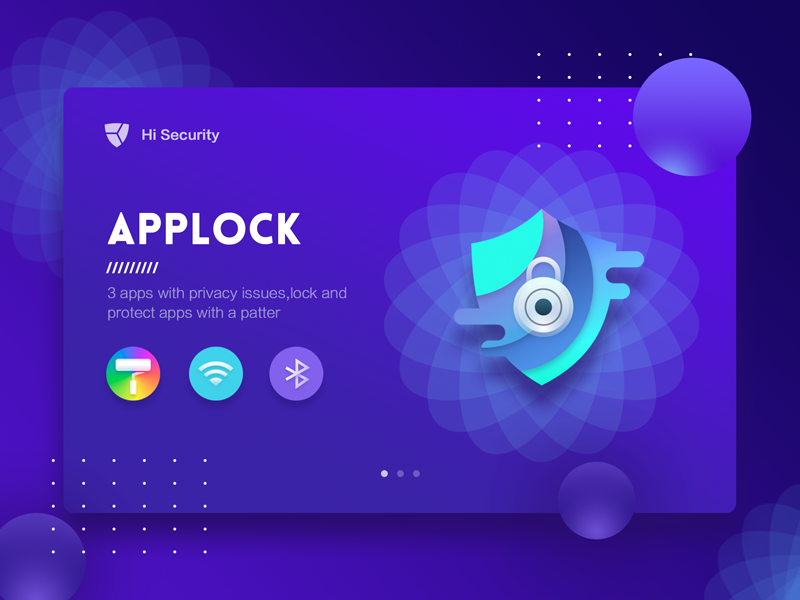 Applock by Ethanwang for DCU on Dribbble