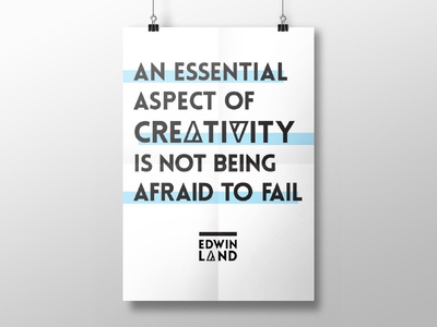 Creativity - Not Being Afraid to Fail