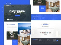 Luxury Place - Landing Page
