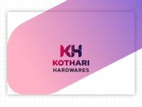 Kothari Hardwares Logo Design