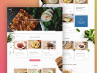 HQ Food Delivery Homepage