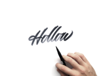 Hollow Dribbble