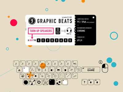 Graphic Beats - Keyboard Guide
