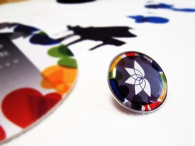 Mangekyo Badge music colorful illustrator goods badge