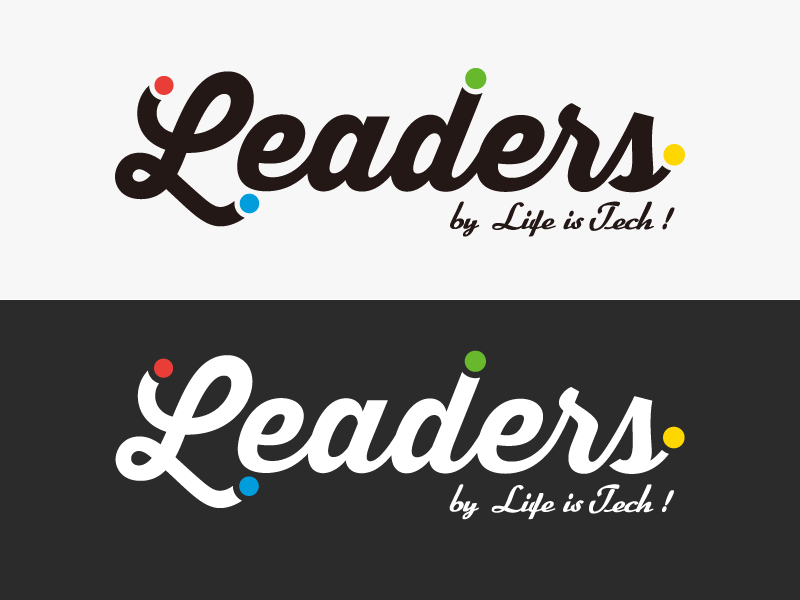 Leaders logo dribbble