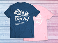 Life is Tech ! Tshirts Summer 2016 ver.