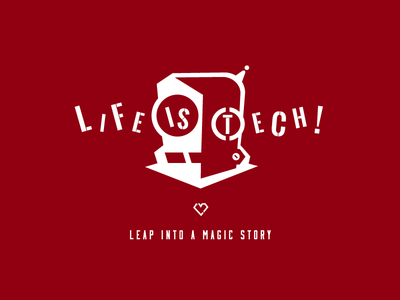 Life is Tech ! Xmas 2016 hooded parka lifeistech logo parka hooded