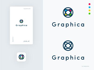 Graphica - V.I. graphica graphic identity logo