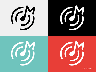Life is Music! music logo