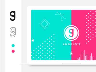 Graphic Beats website graphic logo processing
