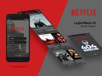 Netflix UI Design