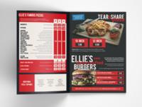Ellie's Pizzeria Menu
